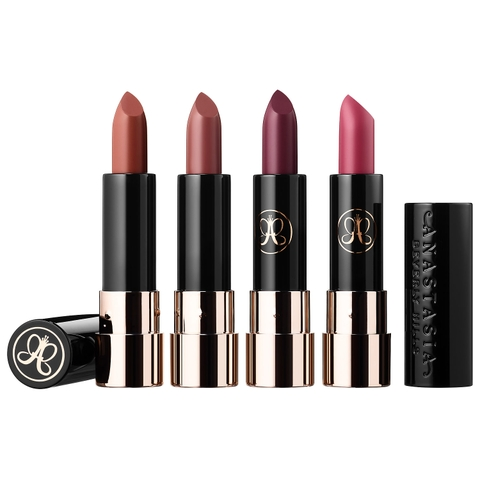 SON ANASTASIA BEVERLY HILLS MATTE LIPSTICK 4 PCS MINI SET