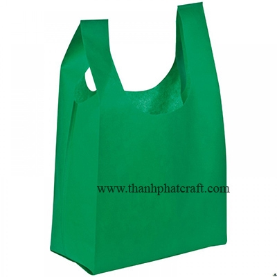 NON WOVEN VEST CARRIER BAG