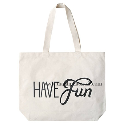 original have fun big Canvas Bag