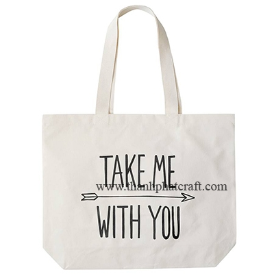 Original Take me with you big canvas Bag