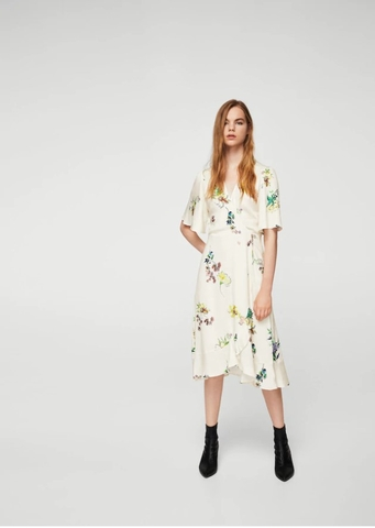 MANGO - DRESS VESTIDO FIELD FLOWER