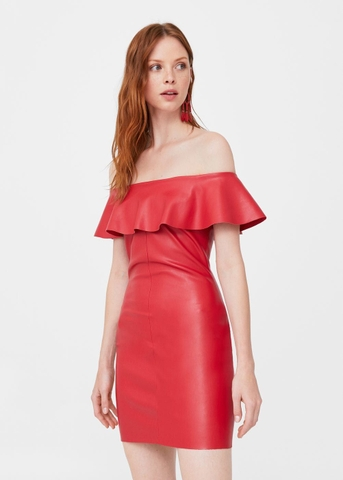 MANGO - DRESS VESTIDO MAMITA RED