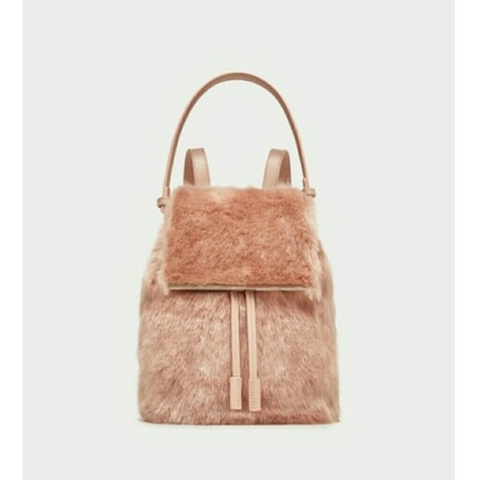 ZARA - PACKBAG BLUSH