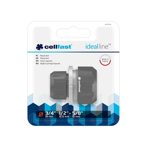 Nối măng sông ống cellfast ideal line plus 21mm - 27mm