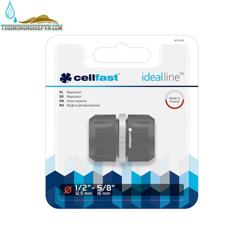 Nối măng sông ống cellfast ideal line plus 21mm