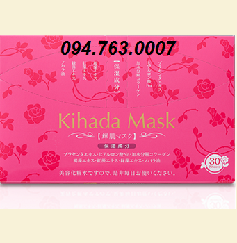KIHADA Sheet masks for skin