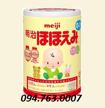 MEIJI Powder Milk for Baby from 0 ~ 9 months