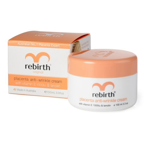 Kem Nhau Thai Cừu Rebirth Anti Wrinkle Bổ Sung Vitamin E