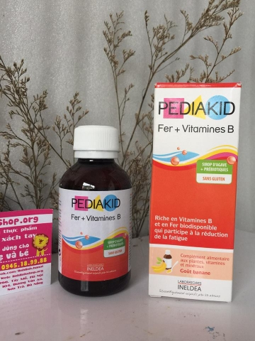 Pediakid Fer + Vitamines B