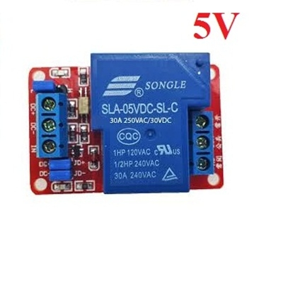 30A -5Vdc relay module with optocoupler