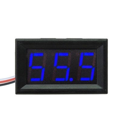 DIGITAL VOLTMETER 0-200V Blue