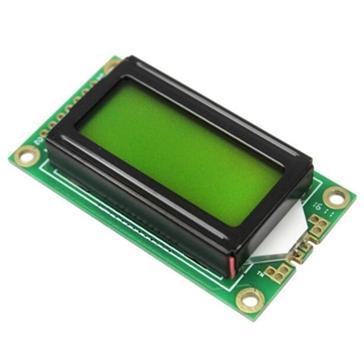 Display Lcd0802A  8x2 yellow