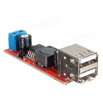 Dual USB Output 3A Step-Down LM2596S