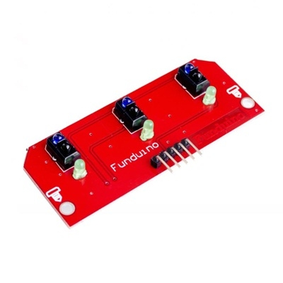 3 Way Infrared IR Line Tracking Sensor Module