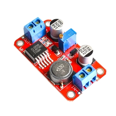 XL6019 DC-DC adjustable boost power module 5A