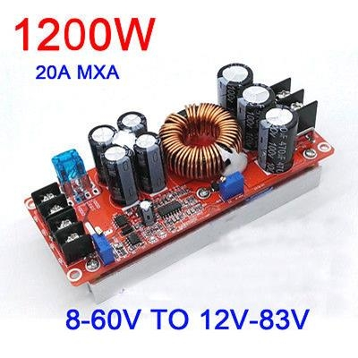 Step-up Module DC 8-60V to 8-83V- 20A