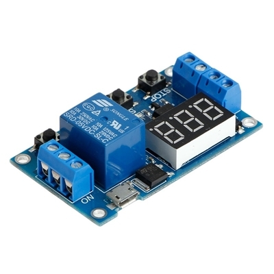 6-30V Relay Module Switch Trigger Time Delay
