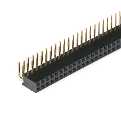 Header 2.54mm female 2x40 Pin Right Angle