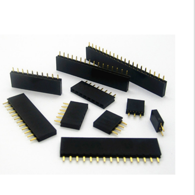 Straight Female Single Row 1*6 Pin