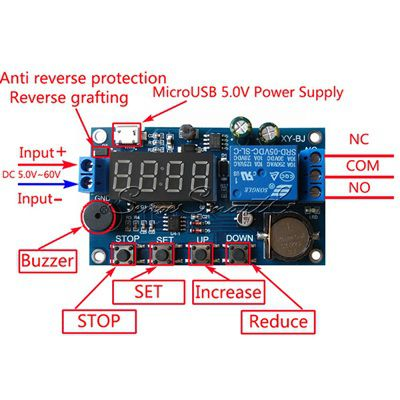 Module Real-time Control Switch Relay