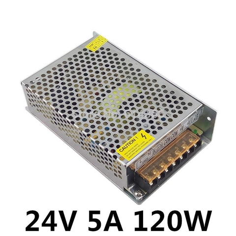 Power Supply 24V-5A ( 24V-120W )