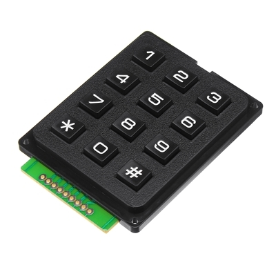 MCU Membrane Switch KEYPAD 4x3 12 KEY