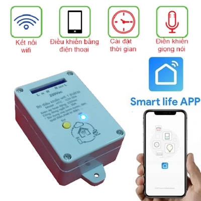 Smart Switch 1CH 30A WiFi APP Smart Life
