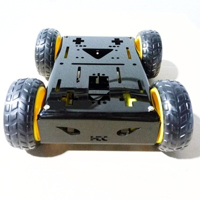 DIY 4WD Robot Car Kit