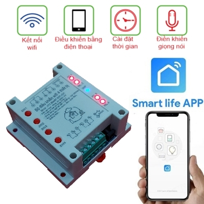 Smart Switch 4CH WiFi APP Smart Life