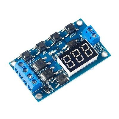 Trigger Cycle Timer Delay Switch  12-24