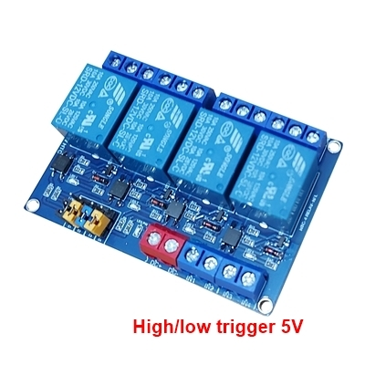 Module 4 Relay 5V opto high/low HTC