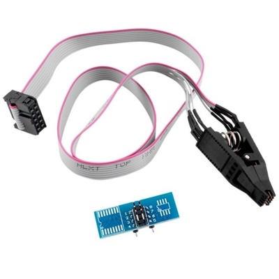 8 Pin SOIC Chip Clip With Cable DIP 8 Adapter