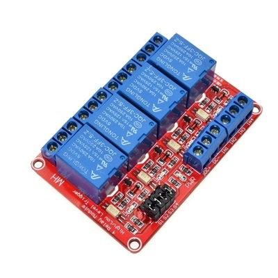 Module 4 Relay 5V opto high and low level dual trigger