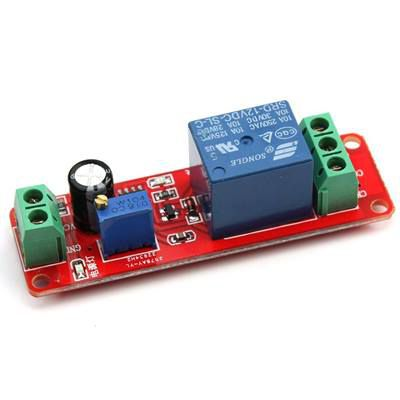 Delay Timer NE555  Switch Relay