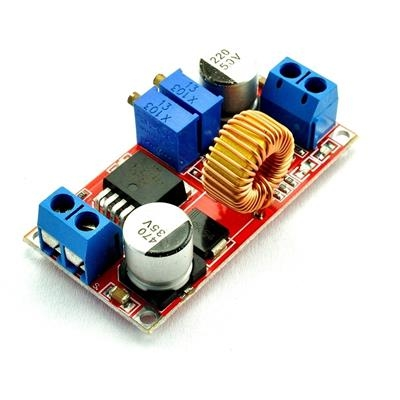 DC Buck Converter 5V-32V to 0.8V-30V 5A  Red