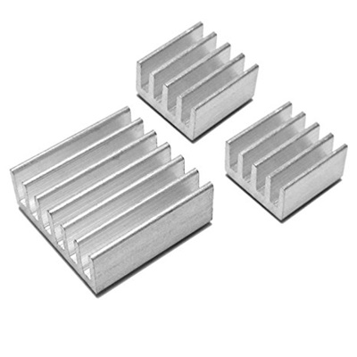 Raspberry pi heatsink 3pcs small