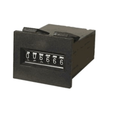 Electromechanical counter 12V SAXA 6-digit Japan