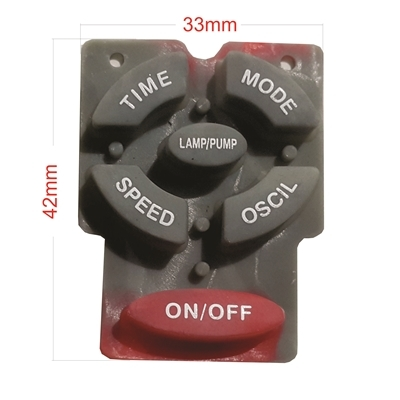 silicone cap key 6 Button