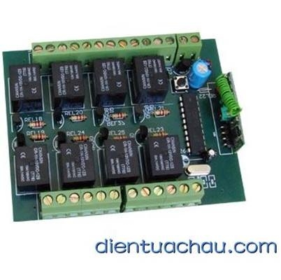 Module RF 8 channel relay