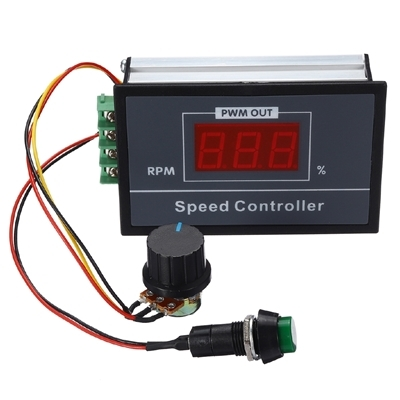 PWM DC Motor Speed Display LED 6V-60V 30A - RPM