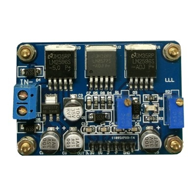 Boost Module LM2577 LM2596 4-Channel Output