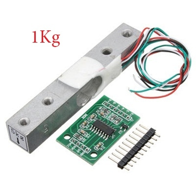 Load Cell Weighing Sensor 1KG With A/D HX711AD