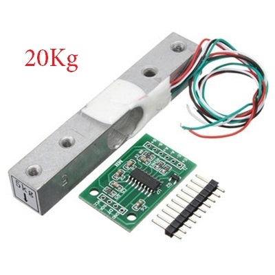 Load Cell Weighing Sensor 20KG With A/D HX711AD