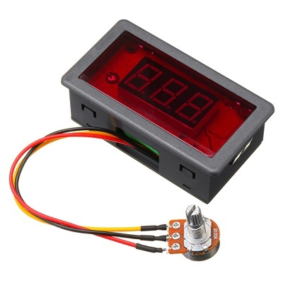 PWM DC Motor Speed Display LED 6V-24V 5A