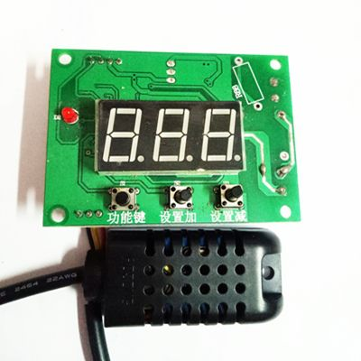 Humidity controller three-digit humidity control