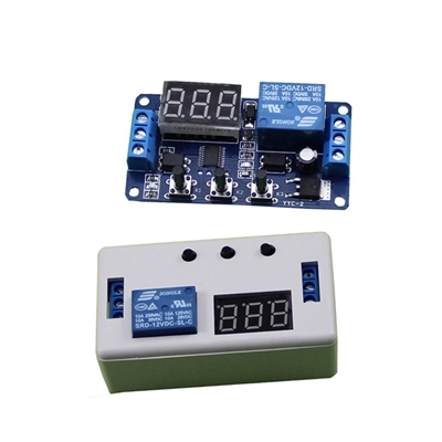 Module Trigger Delay Cycle 12V Relay box Plastic