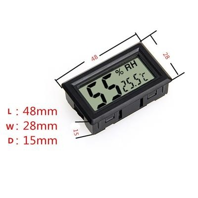 LCD Temperature Humidity Meter Thermometer