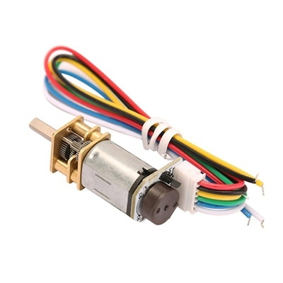 Gear Motor N20 With Encoder  6VDC - 100RPM