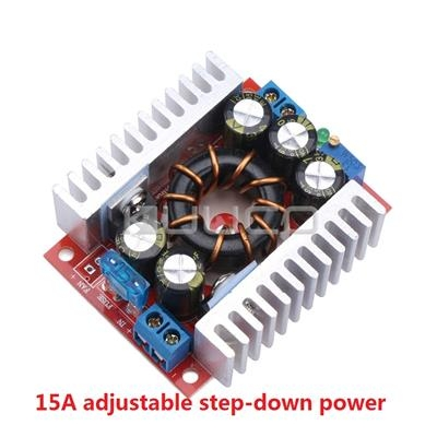 DC-DC 15A  4-32V To 1.2-32V  Converter Step-Down