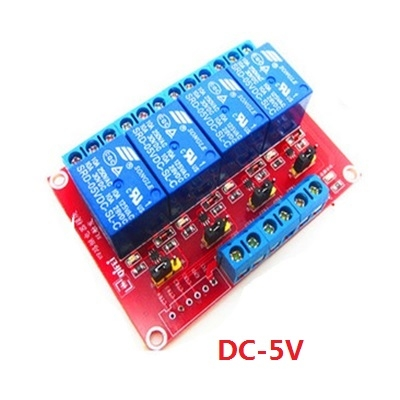 Module 4 Relay 5V  high and low level dual trigger